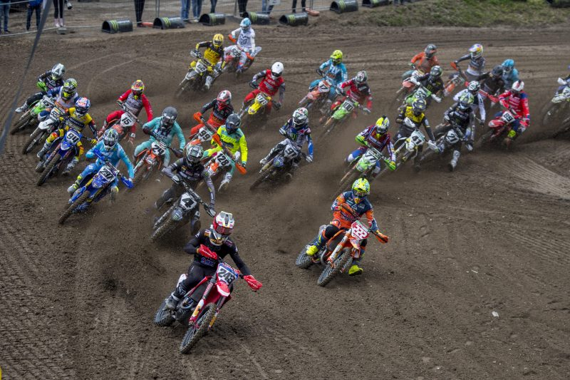 Qualification victory for Gajser at the MXGP of Trentino