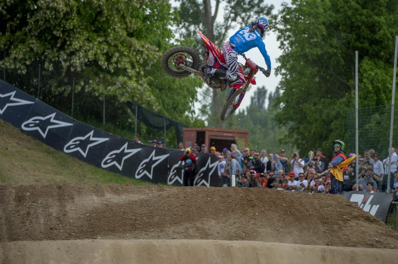 Gajser with second gate pick for MXGP of Lombardia