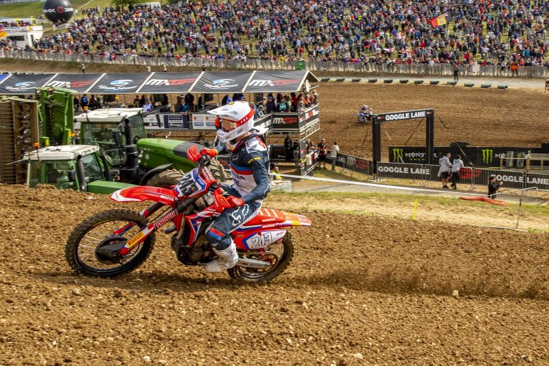 French qualification success for Team HRC's Gajser