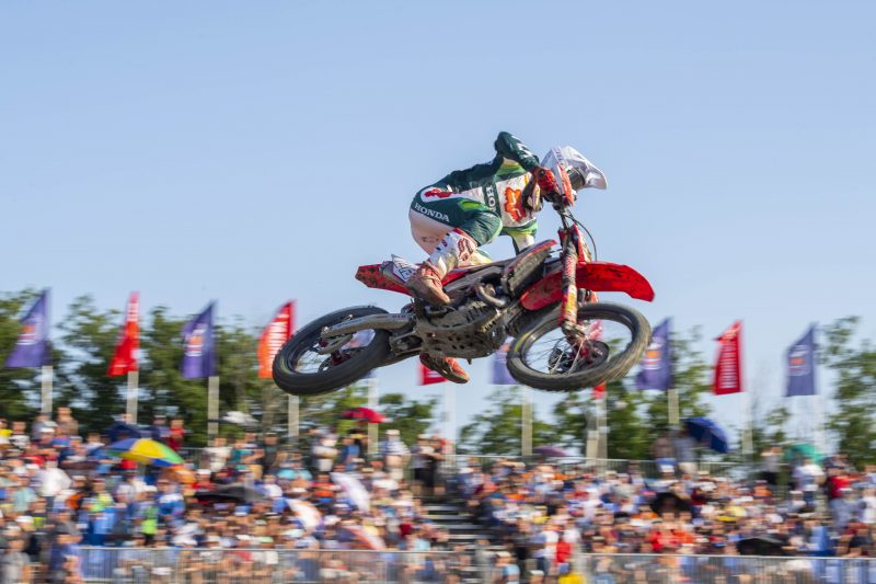 Gajser well placed after Russian MXGP qualification race