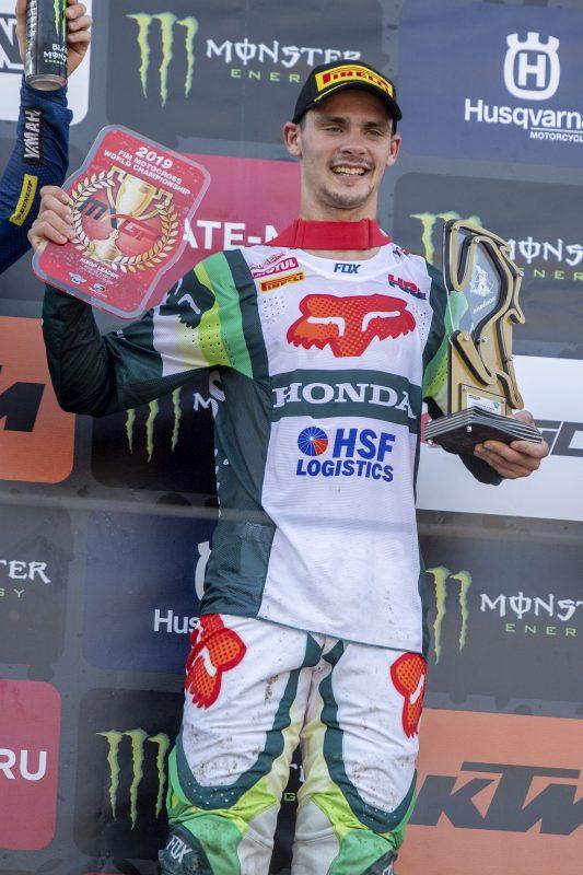 Gajser wins in Russia to take MXGP championship lead
