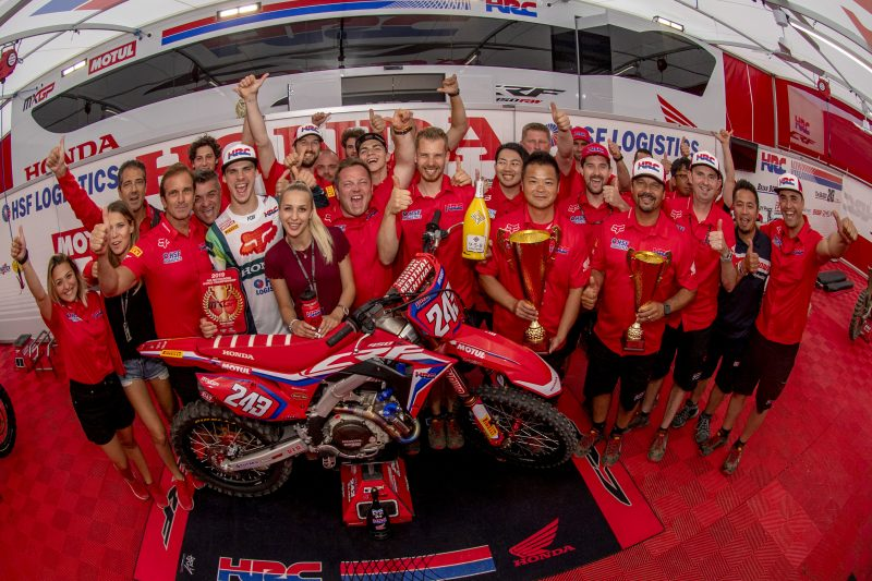 Gajser extends MXGP championship lead with fourth overall victory in a row