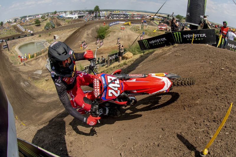 Convincing qualification victory for Gajser in Germany