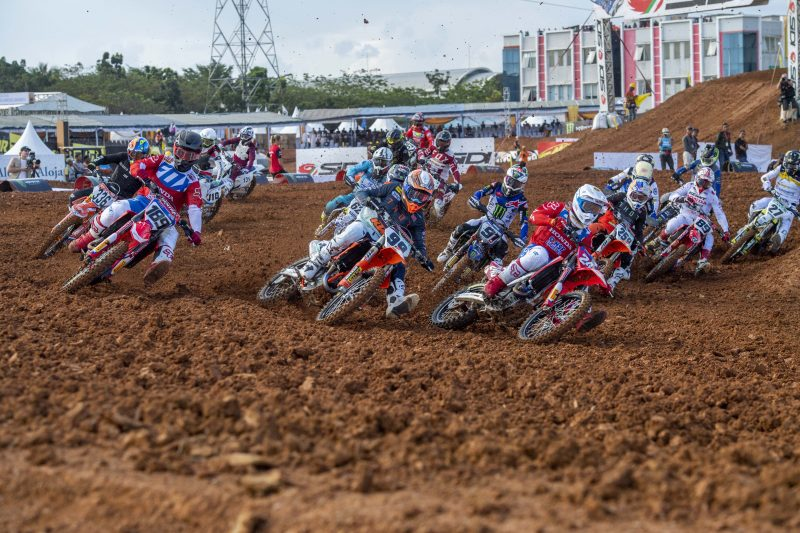 Gajser wins Indonesian MXGP qualification