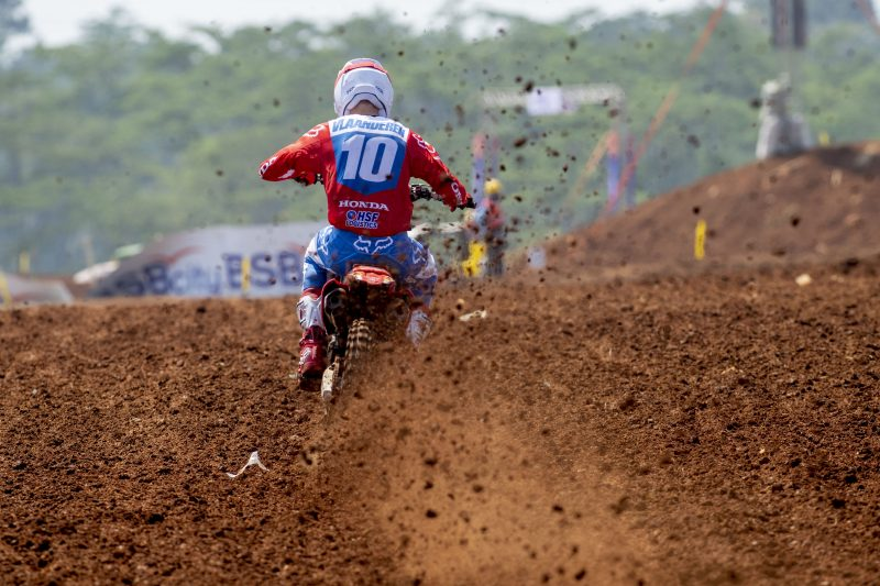 Vlaanderen comes through to sixth in MX2 qualification