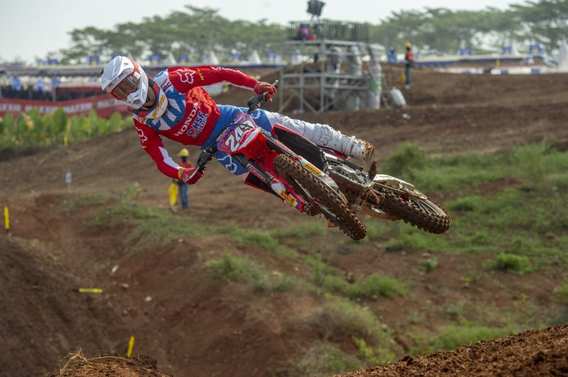 Third for Gajser, Bogers 11th in MXGP of Asia qualification