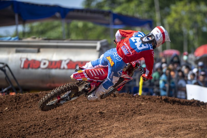 Team HRC return to Europe for the MXGP of the Czech Republic