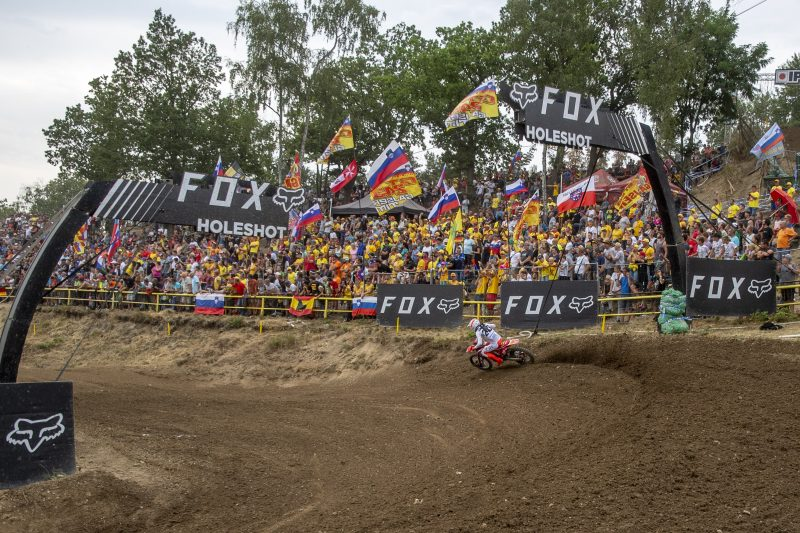 Gajser extends MXGP championship lead in front of record fans