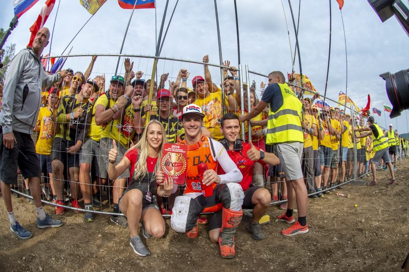 Different conditions await Team HRC as they prepare for the MXGP of Belgium