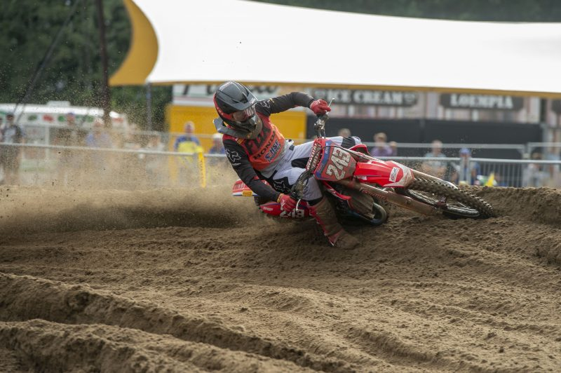 Strong ride for Gajser and good comeback from Bogers in Belgium qualification