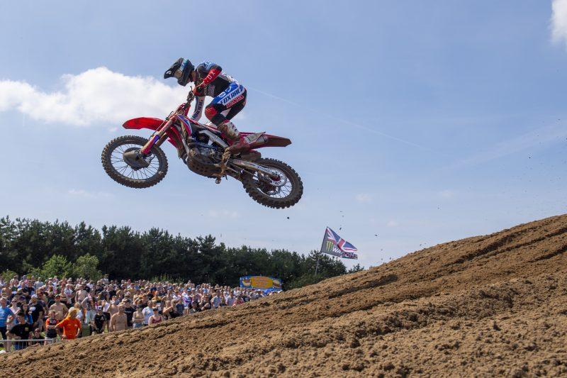 Determined Vlaanderen gets second overall at the MXGP of Belgium