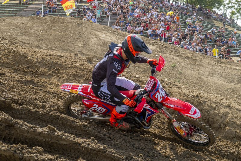 Gajser sets up race day with qualification victory
