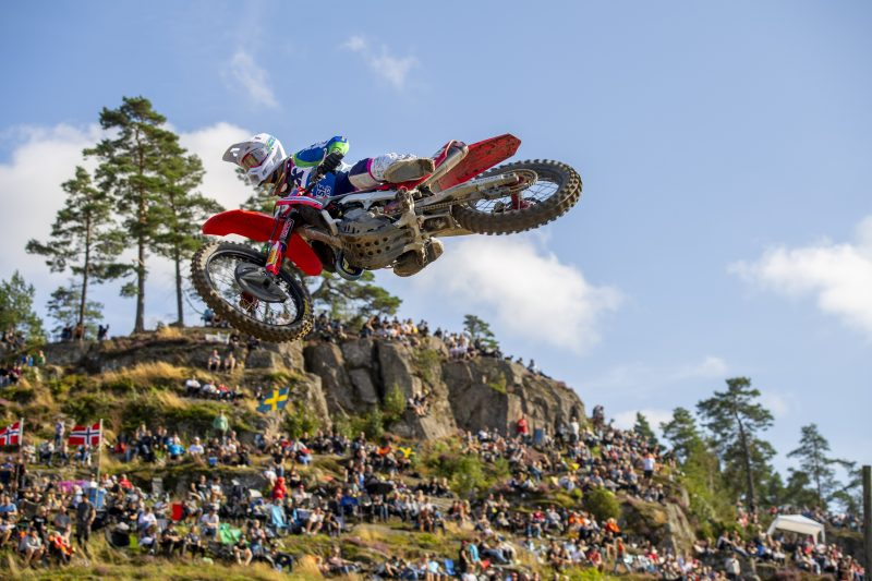 Solid third for Gajser in Swedish qualification race