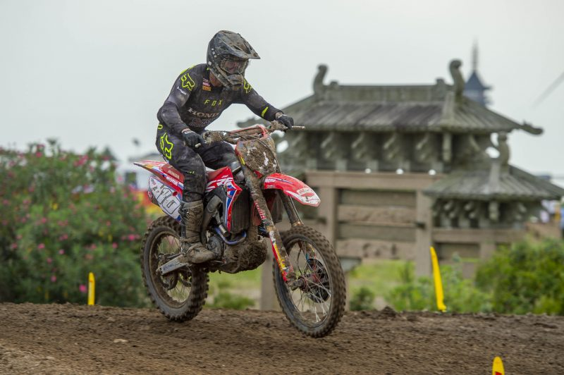 Strong qualification third for Vlaanderen at the MXGP of China