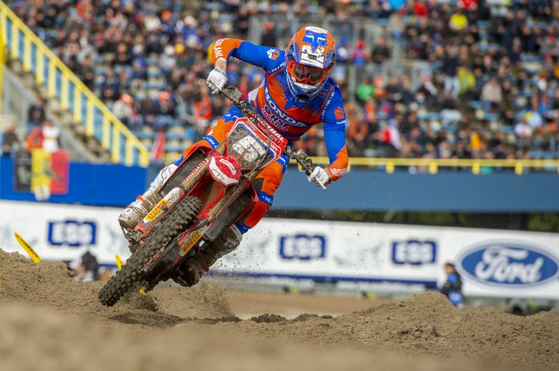 Strong showing for HRC riders in MXoN qualifying races