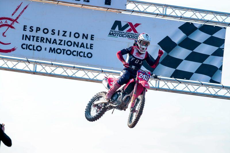 Gajser, Evans and the new Honda CRF450RW dominate Internazionali d'Italia