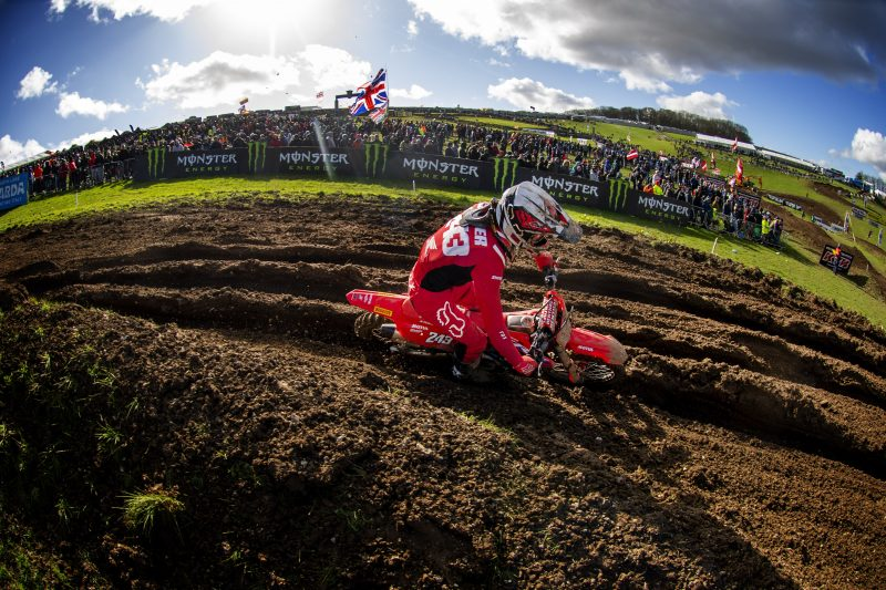 Deep sand awaits Team HRC for MXGP round two