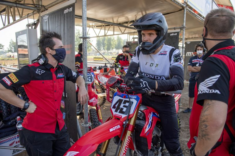 Diary of Mitch Evans: A Week in MXGP