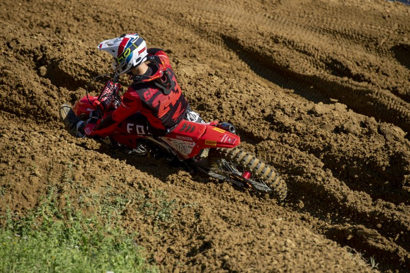 Battling performance from Gajser as Evans continues his improvement