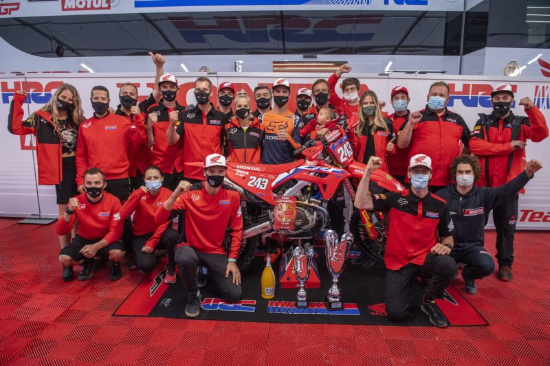Overall victory for Gajser as he increases championship lead