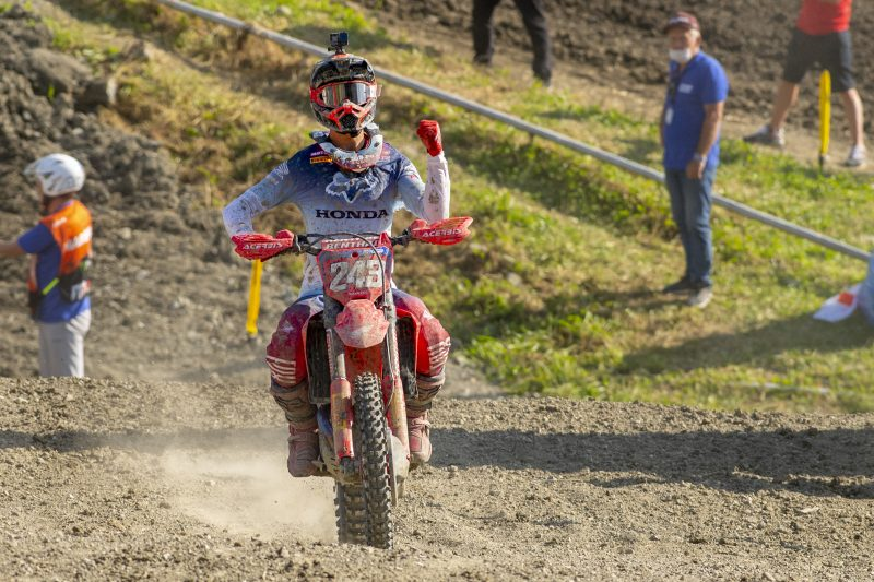 Gajser dominates with one-one on return to MXGP action