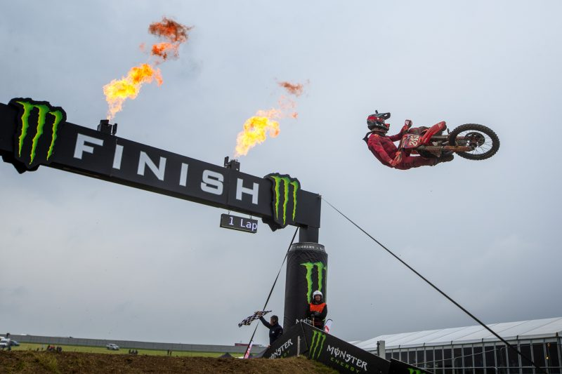 Gajser wins another epic moto to extend championship lead