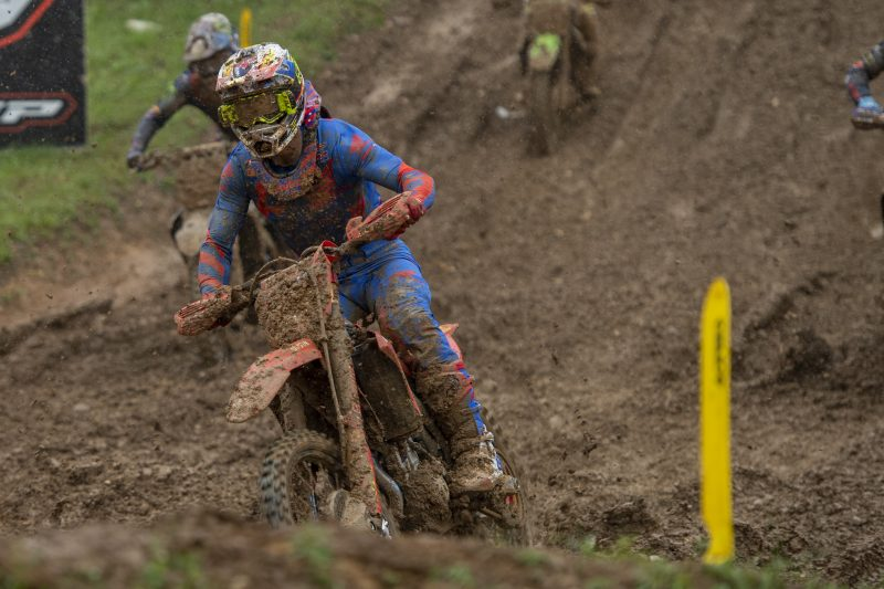 Gajser maintains championship lead after muddy Maggiora