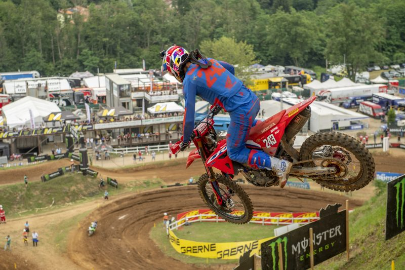New venue at Oss welcomes Team HRC