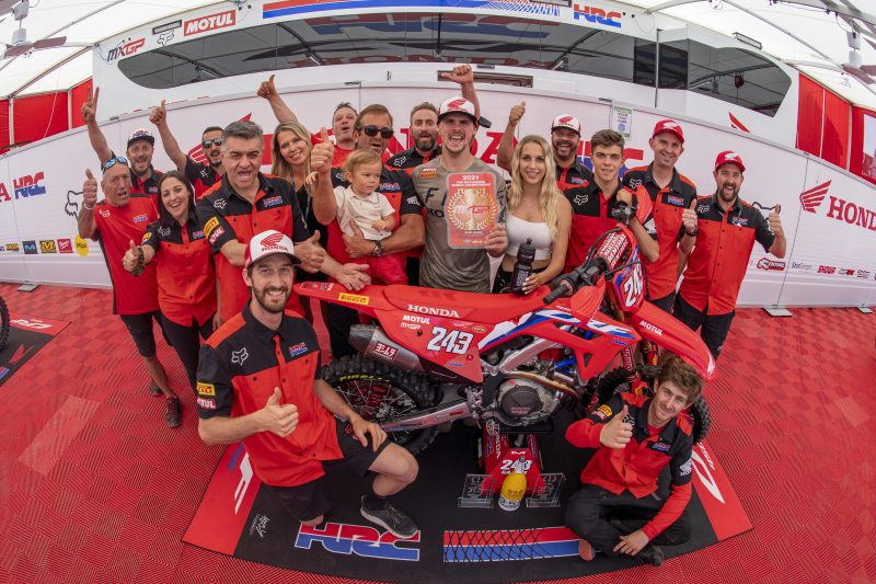 Gajser extends championship lead after another overall victory