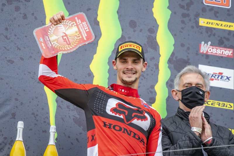 Gajser leaves Lommel with red-plate despite tough MXGP of Belgium