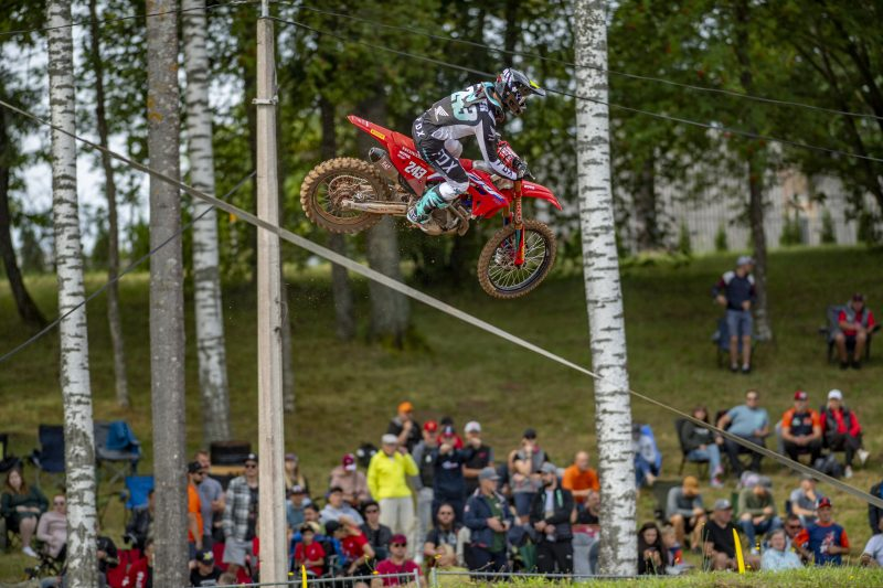 Gajser victorious at the MXGP of Latvia