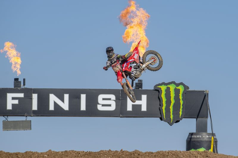 Fired up Gajser increases his points lead after a superb second moto victory
