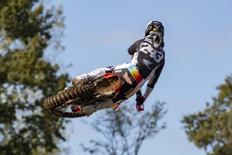 Spain kicks off the final third of the MXGP championship for Team HRC